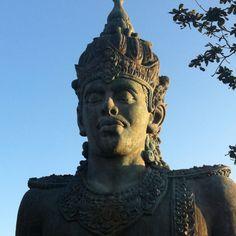 WISNU  #bali #vacation #art #statue #uluwatu #gwk Bali, Statue, Vacation, Vacations, Sculptures, Holiday, Sculpture, Holidays
