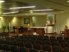 Our Blessed Sacrament Chapel, where daily Mass is said at 9:15 am.