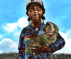 Clementine and AJ | The Walking Dead (Telltale Game) twdg season 2 finale I choose to go with Jane