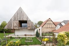 A New Book Examines the Art of Breathing Life Into Forgotten Architecture - Photo 2 of 16 - Located in Zutzendorf, Alsace, France, this traditional suburban Alsatian home was reworked by Gens Architects into a contemporary version of an architectural typology—which is anything but conventional.