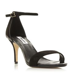 e055b37be68a96 DUNE LADIES MARIEE - Two Part Mid Heel Sandal - black