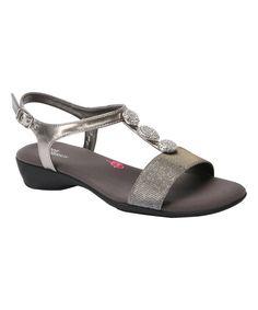 Silver & Glitter Mariel Sandal