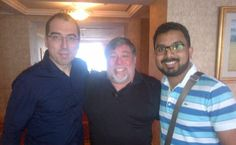Photo of the Week # 45: V Managing Director Pathman Senathirajah and QNET MD JR Mayer meet Apple co-founder Steve Wozniak while in Jakarta, Indonesia for a Leaders' Meeting.