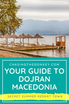 Things To Do In Dojran: Macedonia's Unknown Summer Resort Town Summer Travel, Us Travel, Time Travel, Beach Travel, Travel Tips, Best Vacation Spots, Best Vacations, Vacation Destinations, Croatia Travel