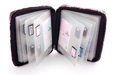 Making Memories - Slice Design Card Storage Case - Pink at Scrapbook.com $19.99