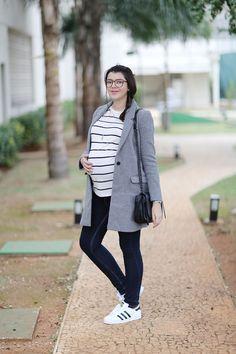 Look do dia: Calça jeans pra gestante