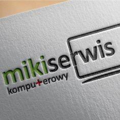 Logo dla serwisu komputerowego Miiki Serwis