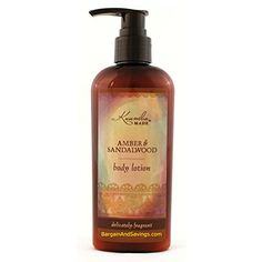 Kuumba Made Body Lotion (6oz (177.44ml), Amber & Sandalwood) Kuumba Made Lotions