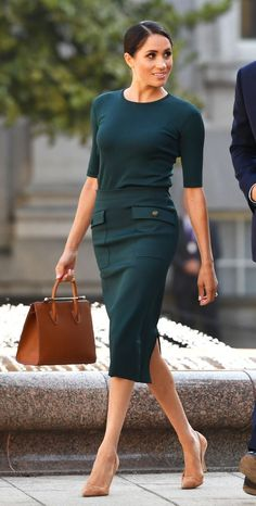 Meghan Markle Is Re-Creating Claire Underwood's Wardrobe | Who What Wear