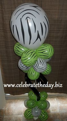 73f7d29f1 Zebra free standing decoration. DIY kit from Celebrate the Day. click pin  for details