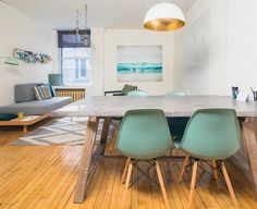 Rent meeting space at 353 Rue St-Nicolas, Floor, Suite 316 daily or hourly with Breather. Book office space in Old Montreal. Old Montreal, Dining Table, Flooring, Interior Design, Chair, Inspiration, Furniture, Home Decor, Design Interiors