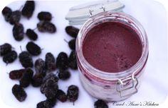 Mulberry ice cream recipe - (adds mulberries to the custard). Mulberry Recipes, Kulfi, Ice Cream Recipes, Frozen Treats, Custard, Sorbet, Gelato, Baked Goods, Food To Make