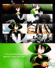 Toph the coolest of all the characters in ATLA...
