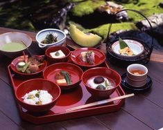 Shigetsu (at Tenryuji Temple) / serves 'shojin ryori' (Buddhist vegan cuisine) / reservation required