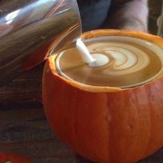 pumpkins for coffee mugs? ... // For more coffee inspirations from Japan visit www.kurasu.me