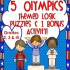 "This download includes 5 Winter Olympic themed logic puzzles. It also includes a bonus activity that goes along with the logic puzzle titled, ""Even..."