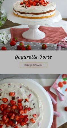 Rezept für Yogurette-Torte_Erdbeer-Joghurt-Schokoladen Torte