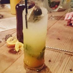 My team's drink made blindfolded - we were robbed of a win!  At @thebotanisttl
