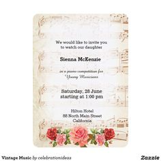 sold #Vintage #Music Card Available in different products. Check more at www.zazzle.com/celebrationideas