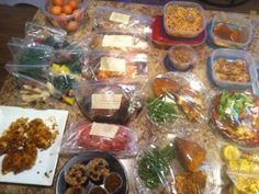 Weekly Meal Plan, including freezer meals that are Paleo/Primal Friendly and Gluten Free | Kristy, Exposed!