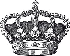 Royal Crown Tattoo Designs | Free EPS file Noble of Crown design vector set 04…