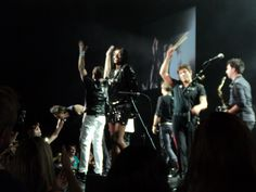 Duran Duran live at The Joint at Hard Rock Hotel & Casino in Tulsa, Oklahoma on August 15, 2012