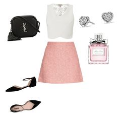 """Evening with the girls"" by thinkk-1 on Polyvore featuring Lipsy, David Yurman, Gucci, Yves Saint Laurent, Christian Dior and Giorgio Armani"