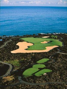 Hualalai Golf Course, The Big Island, Hawaii #golf #hawaii