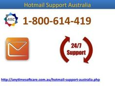 Do you want an end to frequent disruptions that happen day to day in your Hotmail account? Are you getting sick of email attachment issues or you want to get back your hacked account? Hotmail Support Australia is the only solution to all of your troubles form which you want to get out immediately. For any issues, simply dial our toll-free no. 1-800-614-419 and technicians available there make you sure assuring cent percent satisfactory solution without waiting for hours. For more details on…