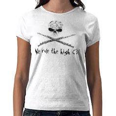 2cbf98704 flute skull and crossbones T-shirt Flute Shirts, Band Shirts, Marching Band  Memes
