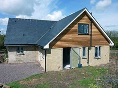 apex cladding in red cedar - with render would look great