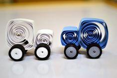 Rainbow Arts: Cute Quilling Cars