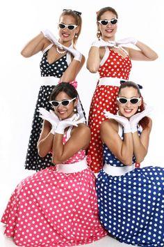 Veja mais informações de Vestidos Bolinhas Coloridos