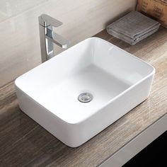 BATHROOM CLOAKROOM COUNTER TOP BASIN SINK HS16. This high quality modern design countertop basin creates functional art for the bathroom or cloakroom. They would add this contemporary charm to any size bathroom that had any style. | eBay!