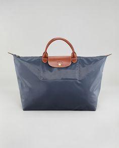 Longchamp Le Pliage Large Monogram Travel Tote Bag fac73fce601