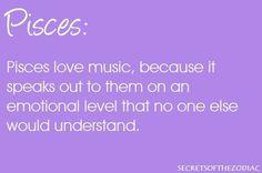 Pisces <3 music