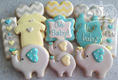 Baby shower elephant cupcakes decorated cookies 57 Ideas for 2019 Baby Cookies, Flower Cookies, Baby Shower Cookies, Birthday Cookies, Sugar Cookies, Cookie Bouquet, Heart Cookies, Valentine Cookies, Easter Cookies