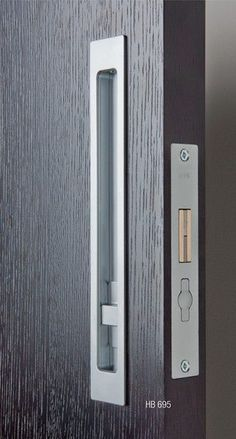 Form With Function - Who says having a deadbolt lock has to be the standard brass #deadbolt that protrudes from the #door. Security can be sleek and still effective, blending seamlessly into the décor of your home without compromising the #safety of your family.