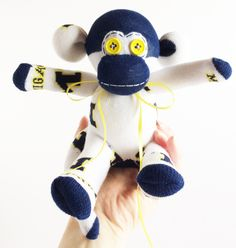 Nebraska Cornhuskers Sock Monkey Sock Monkey University of Nebraska Red Sock Monkey UON Sock Monkey College Graduation Gift
