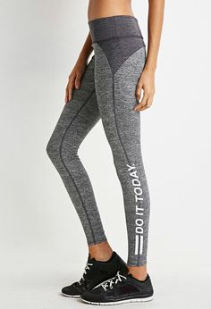 FOREVER 21 active do it today leggings