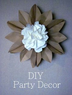 Creationz: {Tutorial} DIY Party Decor