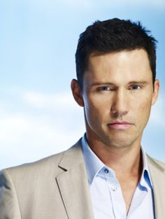 Jeffrey Donovan: Burn Notice on USA. So very addicted to this show.