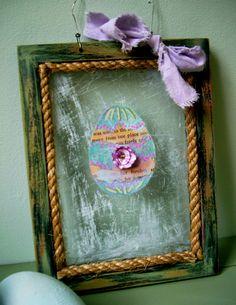 scratchy egg frame