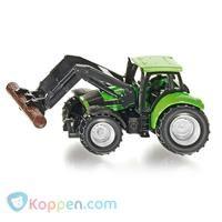 SIKU Tractor met Boom Grijper -  Koppen.com