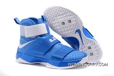 "321618f06ccf ""Kentucky"" Nike Zoom LeBron Soldier 10 Game Royal-White Online"