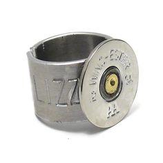 Shotgun Shell Ring - Silver - $15.00