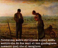 """Citazione di """"Rosso Malpelo"""" di Giovanni Verga, questa frase dimostra la situazione d'un operaio in quell'epoca e qual'era il valore che aveva la società per un ragazzo come Ranocchio."""