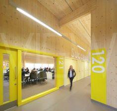 Classroom corridor architecture