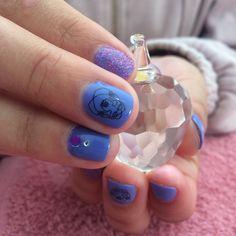 Sapphire, Nails, Rings, Blog, Beauty, Jewelry, Fashion, Finger Nails, Moda