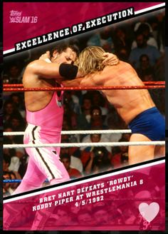 sexy Excellence Of Execution, Bret The Hitman Hart #1 Check more at http://cheapdigitaltoppscards.com/product/excellence-of-execution-bret-hitman-heart/